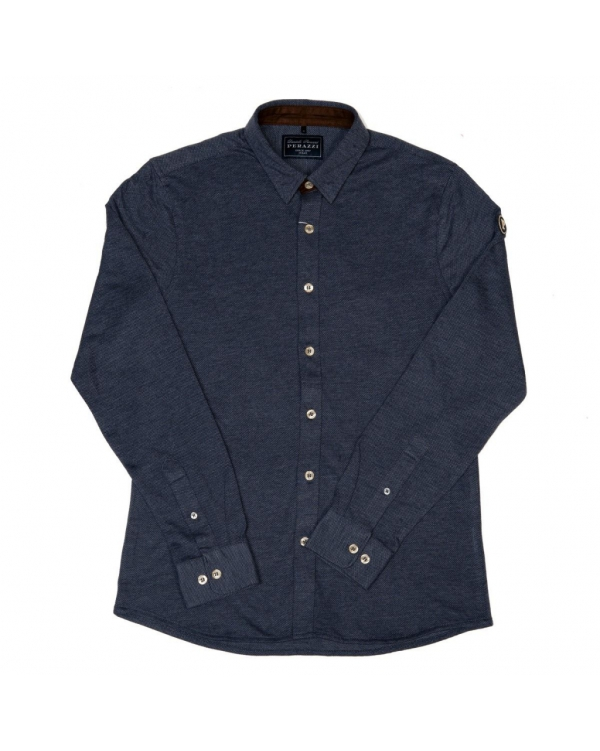 Cotton shirt with long sleeve