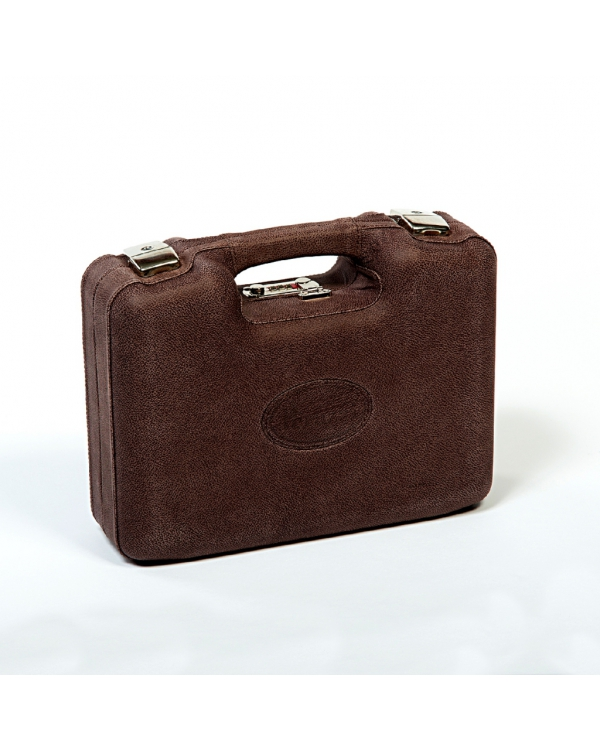 Leather shotshell case-holds 175 unit