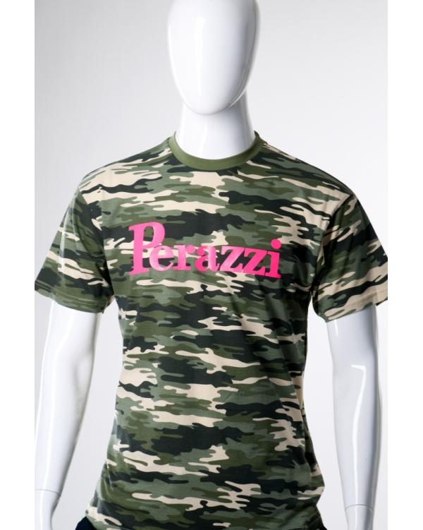 T-shirt camouflage manica corta