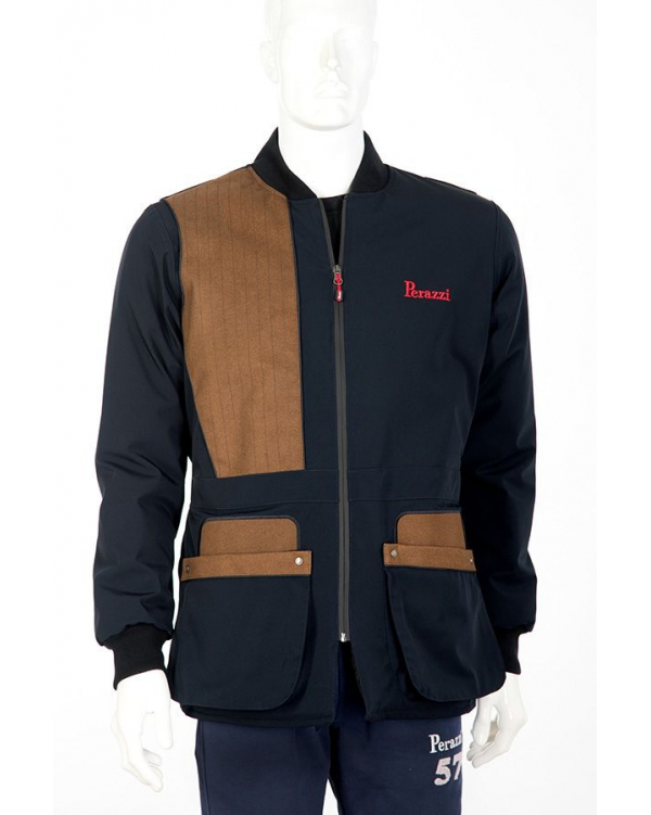 Winter shooting jacket technical fabric