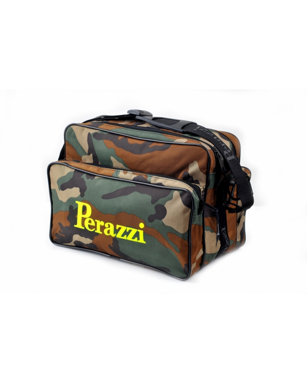 Sporting bag camouflage with double pockets