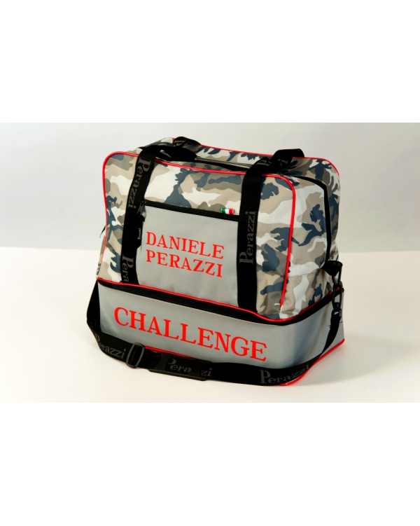 Double bottom Challenge camouflage bag