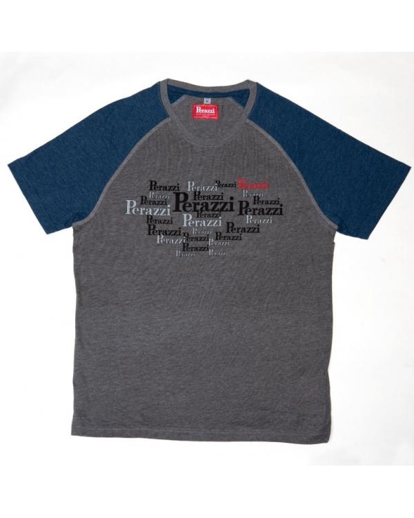 T-shirt bicolore manica corta HT2020