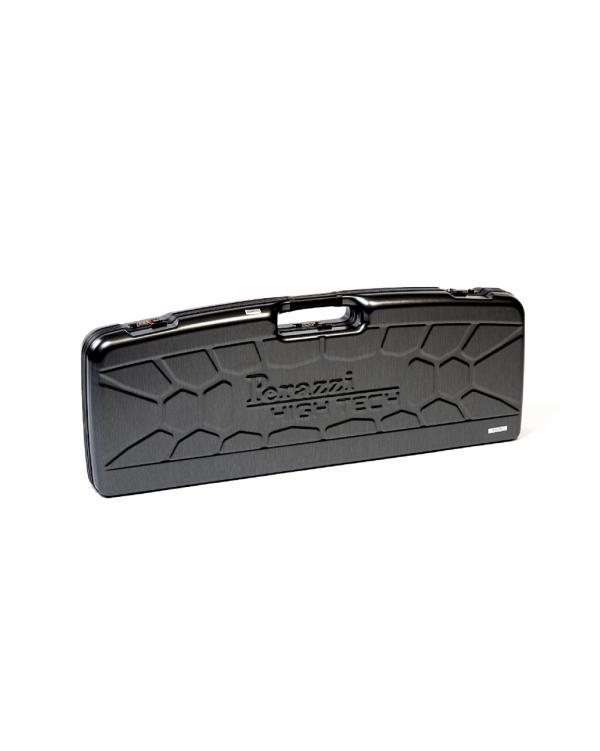 Valigetta in ABS con riporti in pelle per 1 fucile HT bindella alta